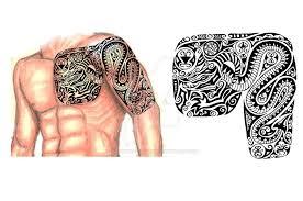 scythian chest arm sleeve by thehoundofulster on deviantart
