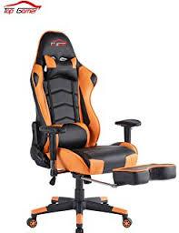 Comfy Pc Gaming Chair Amazon Com Top Gamer Ergonomic Gaming Chair High Back Swivel