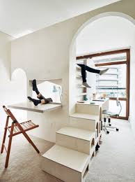 From Small Bedroom To Library Studio Ben Allen Inserts Pale Plywood Children U0027s Bedroom Into