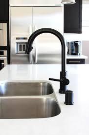 Custom Kitchen Faucets Matte Black Kitchen Faucets The Home Depot Throughout Faucet