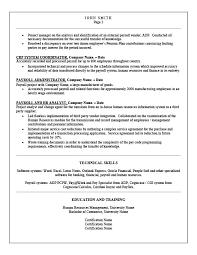 Payroll Manager Resume Payroll Manager Resume Template Premium Resume Samples U0026 Example