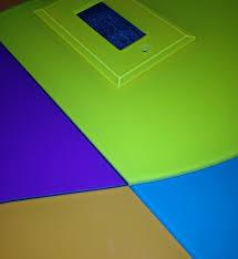Outlet Covers For Glass Tile Backsplash by A Festive Custom Glass Tile Backsplash