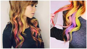 how to color your hair with eyeshadow rainbow loom hair youtube