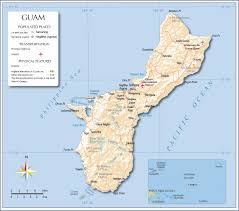 Michigan Area Code Map Map Of Guam Nations Online Project