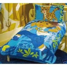 Dora Comforter Set Go Diego Go Toddler 5pc Bedding Set Boy New Crib Reversible