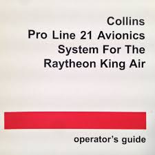 collins proline 21 in king air operator u0027s guide manual ebay
