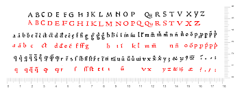 Blank Map Of Ancient Rome by Fonts Typefaces And All Things Typographical U2014 I Love Typography