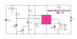 timer control 1 15 minutes by triac 2n6075 and lm555 lm358