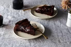 ooey and gooey double baked chocolate cake recipe