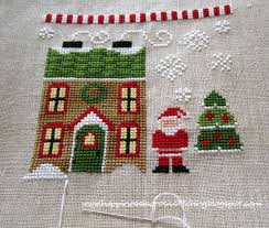 Country Cottage Needlework by Happiness Is Cross Stitching January 2013