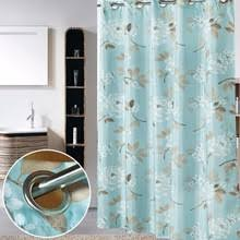 Hookless Shower Curtain Liner Popular Hookless Shower Curtains Buy Cheap Hookless Shower