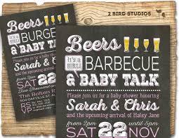 coed baby shower ideas bbq baby shower invitation coed baby shower invitation