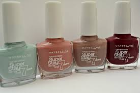 musings of a gem maybelline u0027s superstay 7 day nail varnish review