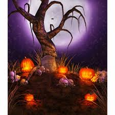 halloween horizontal background allenjoy camera photography backdrops halloween withered grass