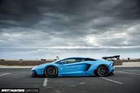 car lamborghini blue blue shark attack lb works u0027 aventador speedhunters