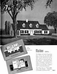 vintage 1940s house plans home deco plans