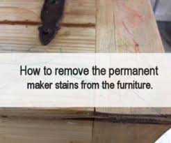 How To Remove Stains From Wood Table How To Remove Heat Stains From Wood Furniture