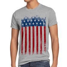 Picture Of The Us Flag Style3 Usa Flagge Herren T Shirt Banner Vereinigte Staaten Von