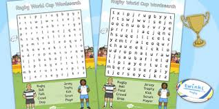 world cup wordsearch rugby world cup wordsearch cup
