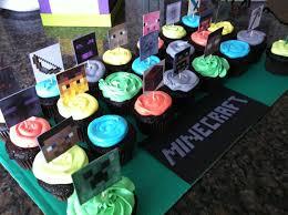 minecraft cupcake ideas birthday cupcakes