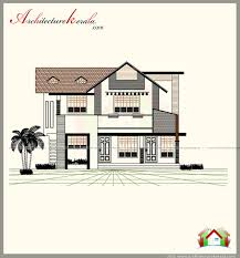 1600 square feet house plan with beautiful elevation