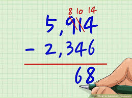 3 ways to subtract thousands wikihow
