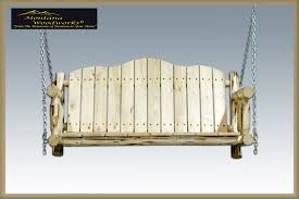 lodgepole pine swings the charming bench company