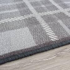 modern kitchen mats modern non slip tartan grey kitchen mat luna kukoon