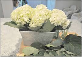 hydrangea and rose diy centerpiece a lo and behold life