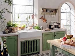 schner wohnen kchen küchen im landhausstil grüne küche im landhausstil wohnen