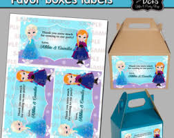 frozen party ideas etsy