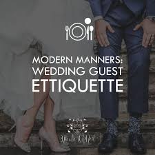 wedding guest registry modern manners wedding guest ettiquette o neil real