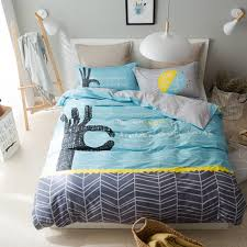 Blue Bed Set Online Get Cheap Light Blue Comforter Aliexpress Com Alibaba Group