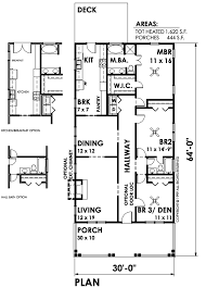 bungalow style house plan 3 beds 2 00 baths 1620 sq ft plan 30 209