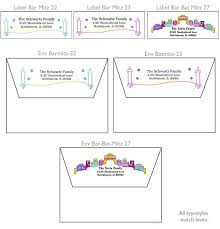 Save The Date Envelopes Personalized Bar Mitzvah And Bat Mitzvah Invitations Matching