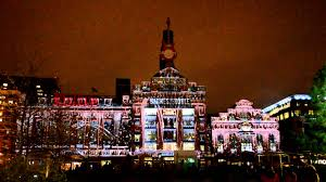 Christmas Laser Light Show Christmas Laser Light Show In Baltimore Maryland Youtube