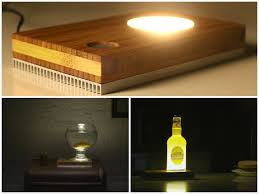 How To Make Wooden Desk Lamp by Baselamp Make Your Own Diy Led Desk Lamp Id Lights
