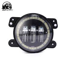 4 inch round led lights one pair 4 inch round led fog lights auxiliary l drl yellow turn