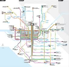 melbourne tram map getting there melbourne boat