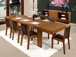 Modern Wood Dining Room Tables Large Square Dining Table 85 With Large Square Dining Table Home