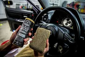 Steering Wheel Upholstery Chemical Guys Leather Serum Natural Look Conditioner