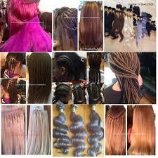 European Weave Hair Extensions by Box Braids Faux Locs Twist La Weave Hair Extensions Afro