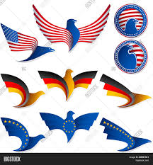 European Flags Images Bird Fly Flag Sign Symbol Insignia Vector U0026 Photo Bigstock