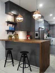 mirrored backsplash in kitchen modern industrial kitchen cabinets caruba info