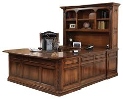 Lexington Office UShape Desk And Hutch Traditional Desks And - Lexington office furniture