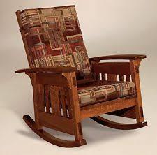 Heavy Duty Armchairs Amish Rocking Chair Ebay
