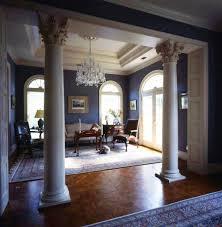 pillars in home decorating interior column design ideas how to hide pillar in living room