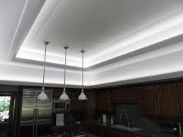 kitchen recessed led lighting kitchen led strip lighting modern