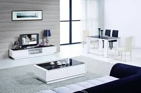 Modern White Tv Table Stand Modrest 2038 Modern White And Black Tv Stand