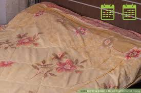 How To Dry A Duvet How To Clean A Down Comforter At Home 12 Steps With Pictures